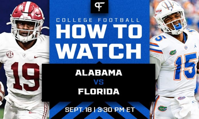 Alabama vs. Florida odds, line, prediction, and how to watch in Week 3