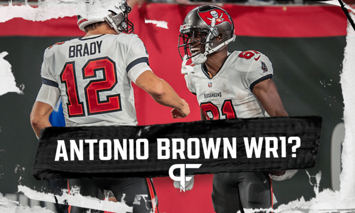 Buccaneers receiver Antonio Brown deserves more targets after throwback game vs. Cowboys