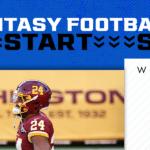Antonio Gibson Start/Sit Week 2: Is he a no-brainer?