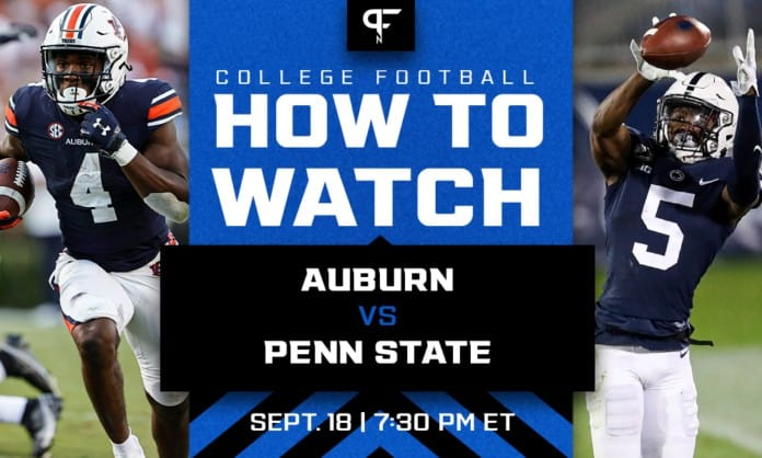 Auburn vs. Penn State odds, line, prediction, and how to watch in Week 3