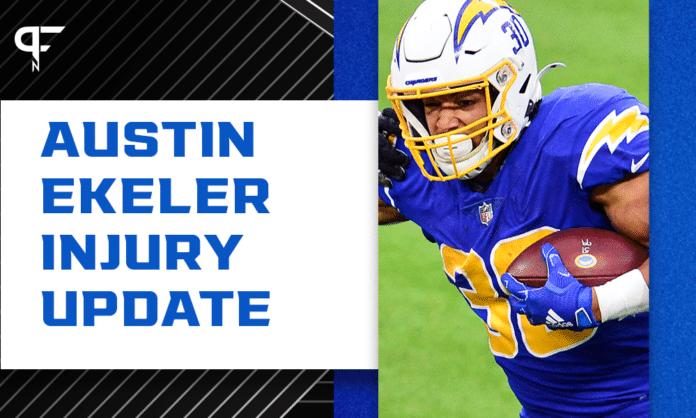Is Austin Ekeler playing this week? Hamstring injury returns ahead of Week 1