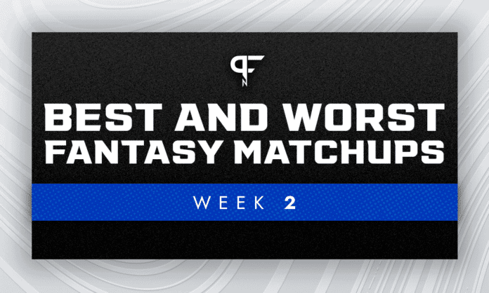 Best and worst fantasy football matchups for Week 2 NFL games