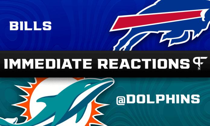 Bills vs. Dolphins Highlights, Final Score: Tua injured, Bills dominate from get-go