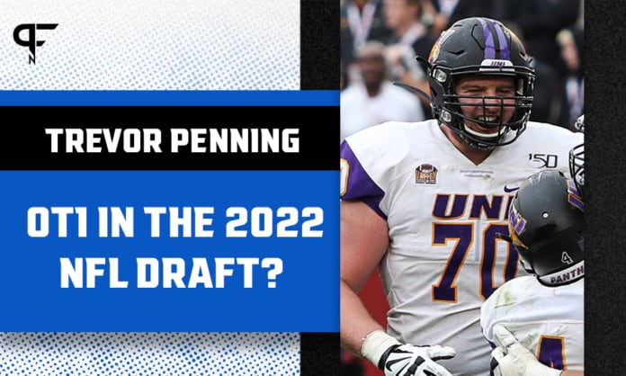 Can Northern Iowa tackle Trevor Penning be OT1 in the 2022 NFL Draft?