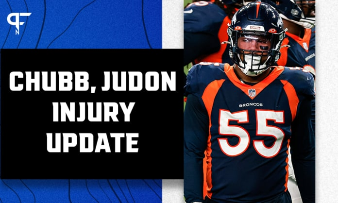 Matt Judon, Bradley Chubb injuries highlight latest NFL injury report for Week 3