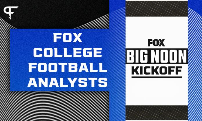 FOX College Football Analysts: Bob Stoops, Brady Quinn, Gus Johnson, Joel Klatt headline Big Noon shows