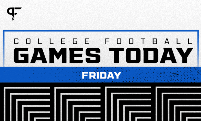 Time, channels for college football games on TV today