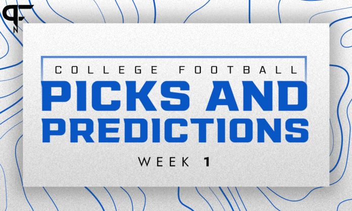 College Football picks and predictions against the spread for Week 1