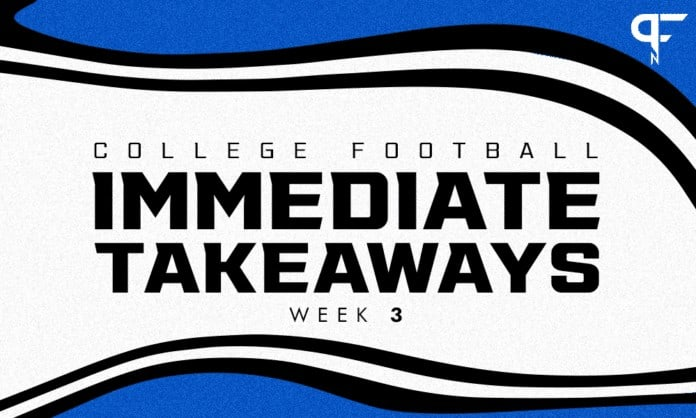 College Football recaps, scores, highlights from Week 3 action
