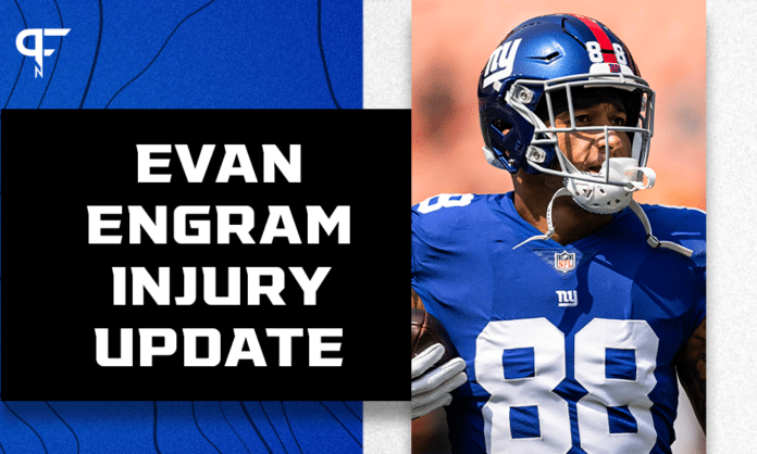 New York Giants injuries: Evan Engram out, Saquon Barkley questionable vs. WFT