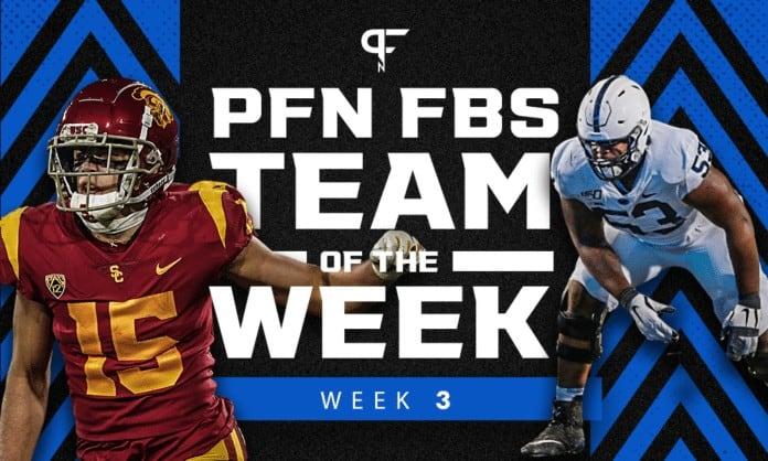 College Football Week 3: Team of the Week honors