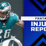 Fantasy Football Injury Report: D'Andre Swift, Miles Sanders, Jonnu Smith injury updates
