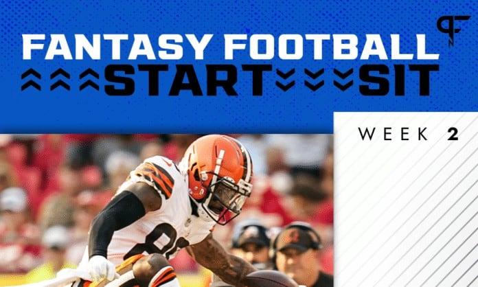 NFL Start 'Em Sit 'Em Week 2: Wide Receiver sleepers, matchups, and more