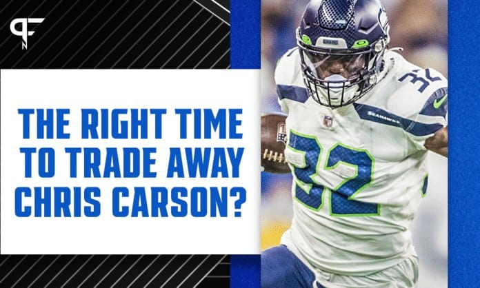 Fantasy Football Trade Analyzer: Is this the right time to trade away Chris Carson?