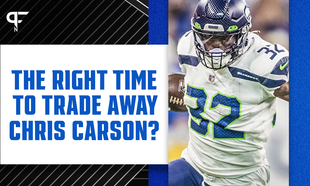Is this the right time to trade away Chris Carson?