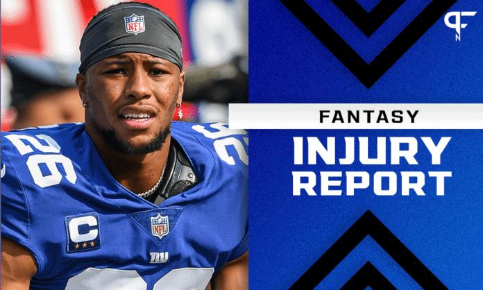 Fantasy Football Injury Report: Odell Beckham Jr., Saquon Barkley, and Zach Ertz injury updates