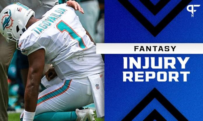 Fantasy Injury Report: Tua Tagovailoa, Dalvin Cook, Diontae Johnson injury updates