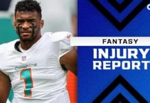 Fantasy Injury Report: Tua Tagovailoa, Josh Jacobs, Odell Beckham Jr. injury updates