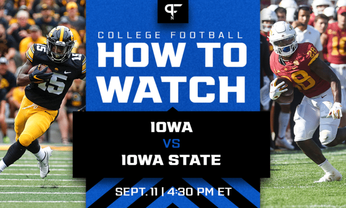 Iowa vs. Iowa State odds, prediction, how to watch in Week 2