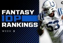 IDP Rankings Week 3: Best defensive fantasy football players to start