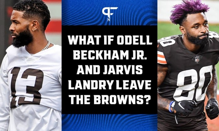 If Odell Beckham Jr. and Jarvis Landry leave, who could the Browns target in 2022 NFL Draft?