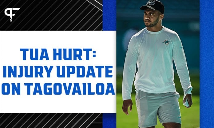 Injury update on Miami Dolphins QB Tua Tagovailoa