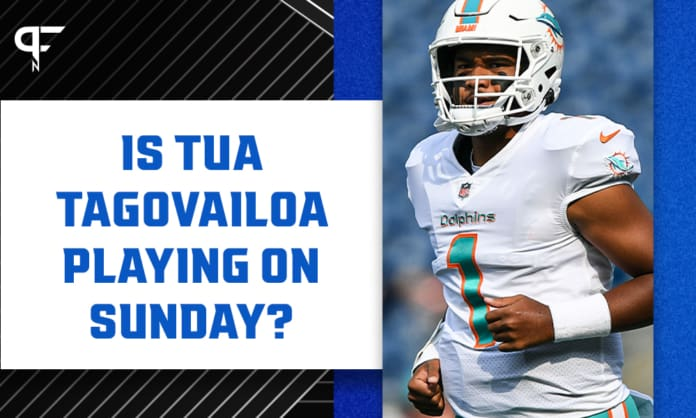 Is Tua Tagovailoa playing on Sunday? Injury update for Dolphins vs. Raiders Week 3 game