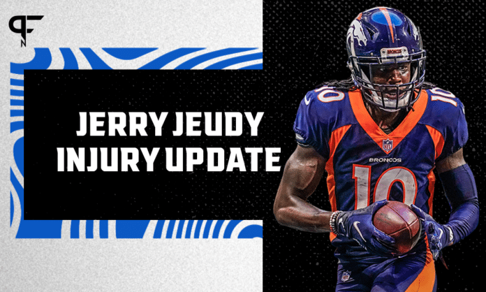 Jerry Jeudy Injury Report: Broncos WR injures ankle in Week 1