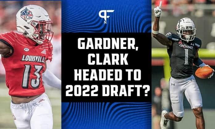 Junior corners Ahmad Gardner, Kei'Trel Clark headed to the 2022 NFL Draft?