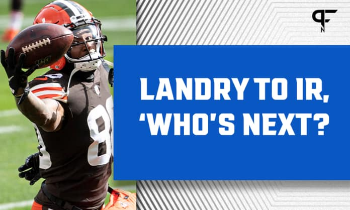 Cleveland Browns Depth Chart: Where to turn at WR with Jarvis Landry on IR