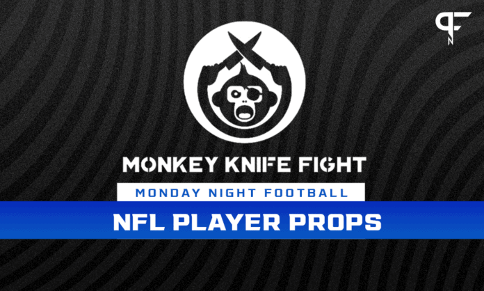 Monday Night NFL Player Props Week 2: Monkey Knife Fight plays