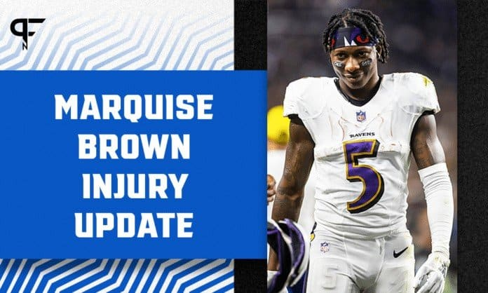 Marquise Brown Injury Update: Will Ravens WR play in Week 2 vs. Chiefs?