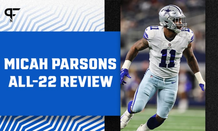 Micah Parsons: All-22 review of his first game at DE since high school