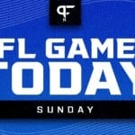 NFL Games Today TV Schedule: Times, channels, live streams for Week 2