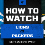 Monday Night Football Tonight: Lions vs. Packers channel, live stream, start time, more