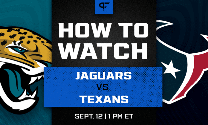 Jaguars vs. Texans prediction, how to watch, odds, and preview for Week 1