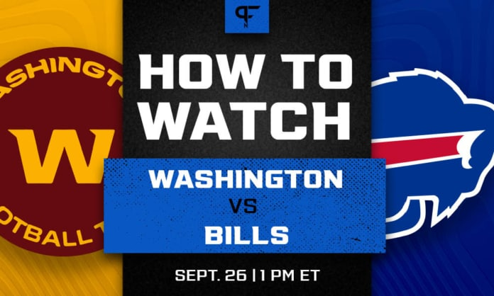 Washington vs. Bills prediction, odds, line, and how to watch the Week 3 game