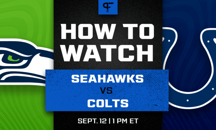 Seahawks vs. Colts prediction, how to watch, odds, and preview for Week 1