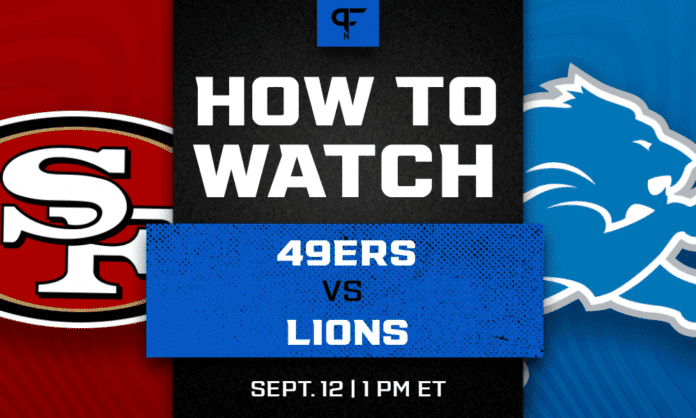 49ers vs. Lions prediction, how to watch, odds, and game preview for Week 1