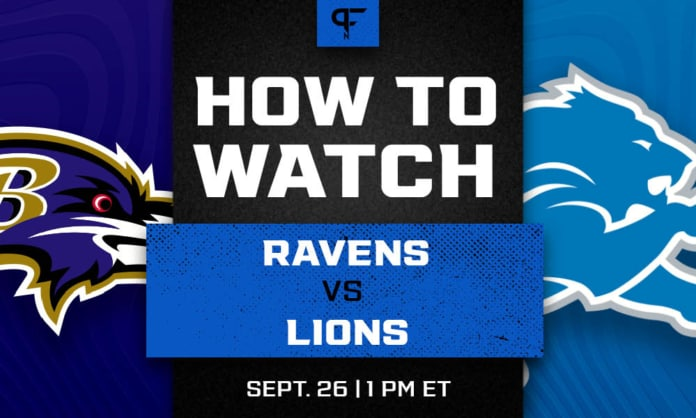 Ravens vs. Lions prediction, odds, line, and how to watch the Week 3 game