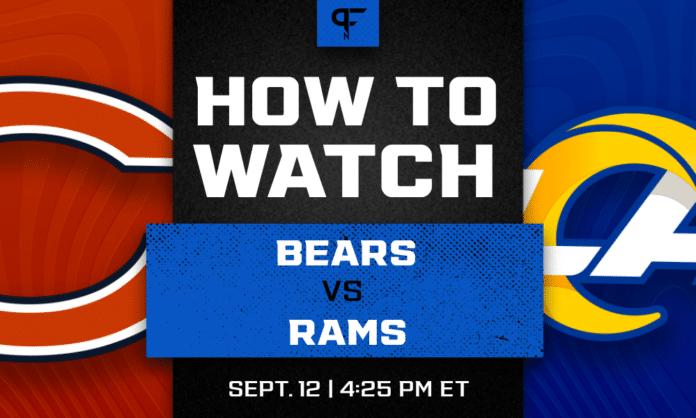 Sunday Night Football Tonight: Bears vs. Rams channel, live stream, start time, more
