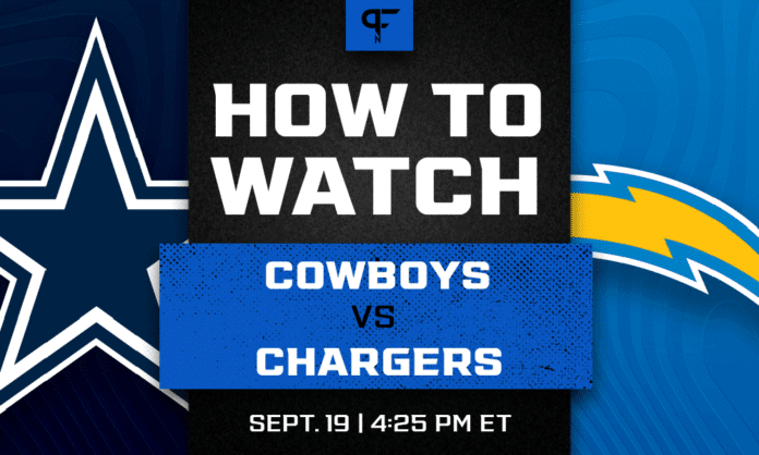 Cowboys vs. Chargers odds, line, prediction, and how to watch the Week 2 game