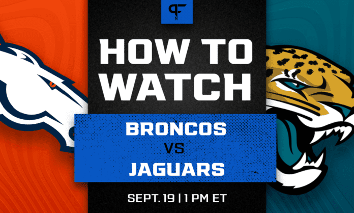 Broncos vs. Jaguars odds, line, prediction, and how to watch the Week 2 game