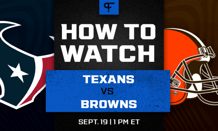 Texans vs. Browns odds, line, prediction, and how to watch the Week 2 game