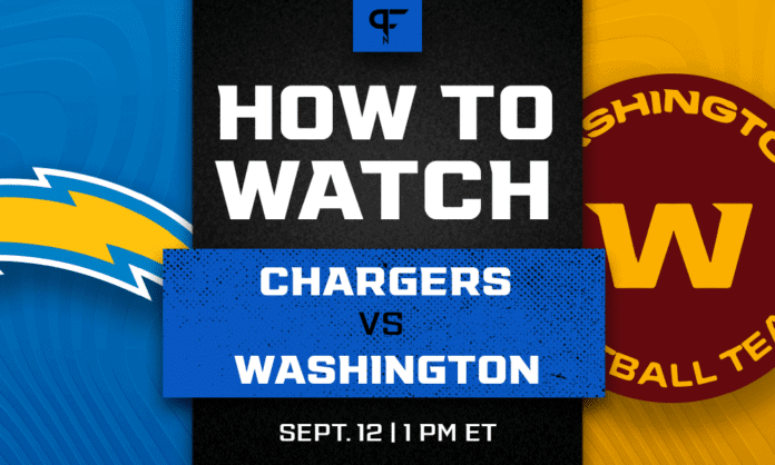 Chargers vs. Washington prediction, how to watch, odds, and game preview for Week 1
