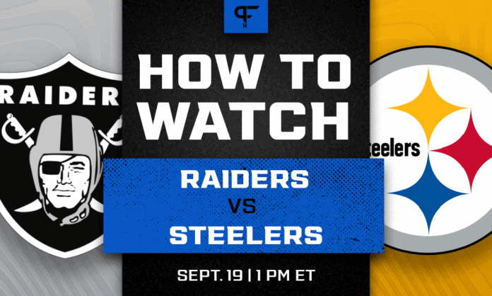 Raiders vs. Steelers odds, line, prediction, and how to watch the Week 2 game