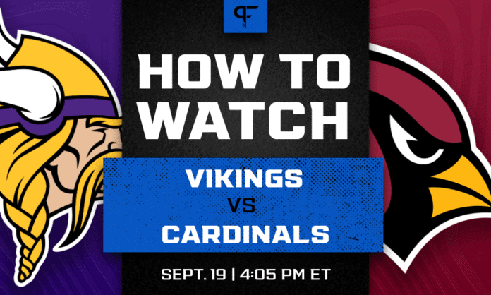 Vikings vs. Cardinals odds, line, prediction, and how to watch the Week 2 game