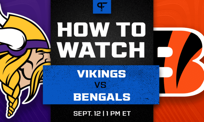 Vikings vs. Bengals prediction, how to watch, odds, and game preview for Week 1