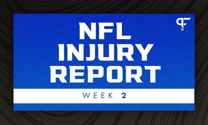 NFL Injury Report Injuries that will impact Week 2 NFL games