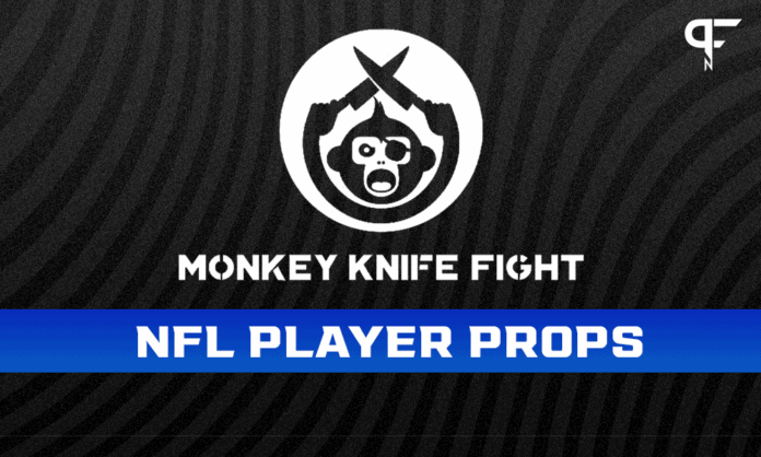 NFL Player Props Week 3: Sunday Monkey Knife Fight plays
